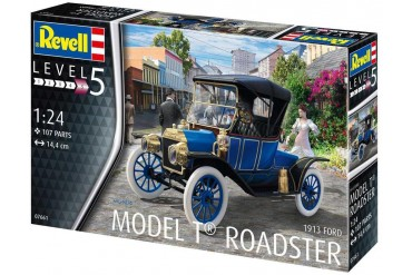 Plastic ModelKit auto 07661 - Ford T Modell Roadster (1913) (1:24)
