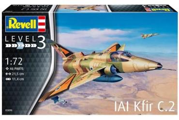 ModelSet letadlo 63890 - Kfir C-2 (1:72)