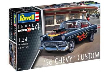 ModelSet auto 67663 - '56 Chevy Customs (1:24)