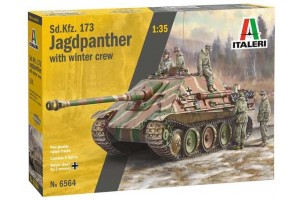 Model Kit tank 6564 - Sd. Kfz.173 Jagdpanther with crew (1:35)