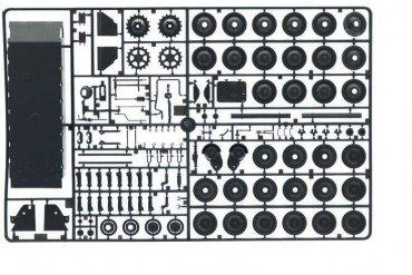 Model Kit tank 6564 - Sd. Kfz.173 Jagdpanther with crew (1:35)