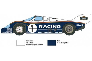 Model Kit auto 3648 - Porsche 956 (1:24)