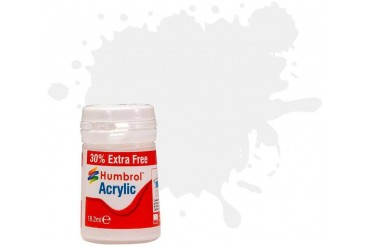 Humbrol barva akryl AB0049EP - No 49 Varnish Matt (+30% navíc zdarma)