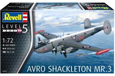 Plastic ModelKit letadlo 03873 - Avro Shackleton Mk.3 (1:72)