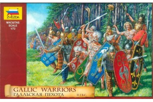 Model Kit figurky 8012 - Gallic Warriors (1:72)