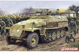 Model Kit military 7611 - Sd.Kfz.251 Ausf.C + 3.7cm PaK 35/36 (1:72)