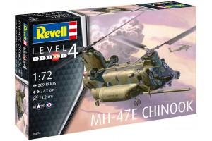 Plastic ModelKit vrtulník 03876 - MH-47 Chinook (1:72)