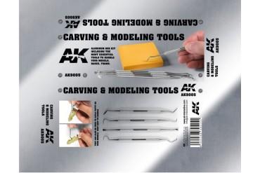 Sada řezbářských nástrojů (Carving tools box) - 9005