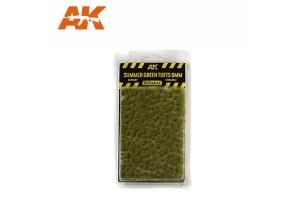 Letní trsy trávy  (Summer green tufts) - 6mm - 8120