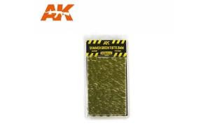 Letní trsy trávy  (Summer green tufts) - 2mm - 8124