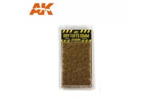 Trsy suché trávy (Dry tufts) - 12mm - 8126