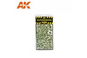 Tmavý mech (Dark green moss) - 8131