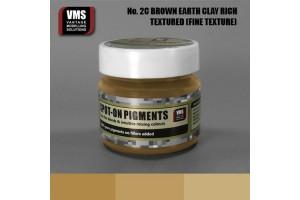 EU Brown Earth Clay Rich Tone - Fine Texture - SO.No2cFT