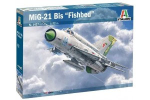 Model Kit letadlo 1427 - MiG-21 Bis ''Fishbed'' (1:72)