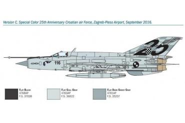 Model Kit letadlo 1427 - MiG-21 Bis ''Fishbed'' (1:72)