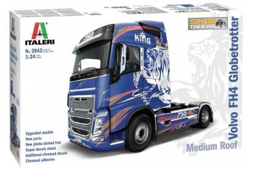 Model Kit truck 3942 - VOLVO FH4 Globetrotter Medium Roof (1:24)