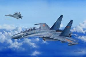 Su-30MKK Flanker G 1:48 - 81714
