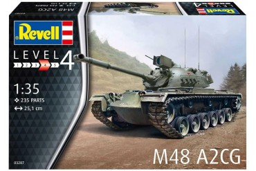 Plastic ModelKit tank 03287 - M48 A2CG (1:35)