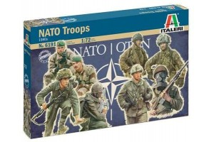 Model Kit figurky 6191 - NATO TROOPS (1980s) (1:72)