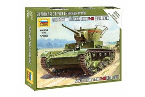 Snap Kit military 6246 - T-26 mod.1933 (1:100)