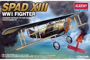 Model Kit letadlo 12446 - SPAD XIII WWI FIGHTER (1:72)