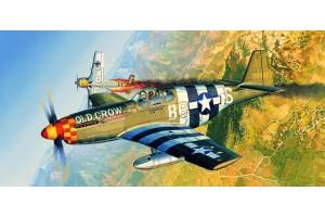 Model Kit letadlo 12464 - P-51B (1:72)