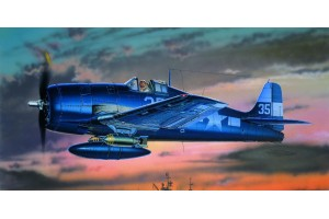 Model Kit letadlo 12481 - F6F-3/5 (1:72)