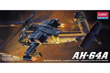 Model Kit vrtulník 12488 - AH-64A (1:72)