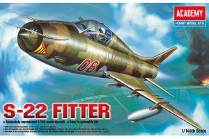 Model Kit letadlo 12612 - S-22 FITTER (1:144)