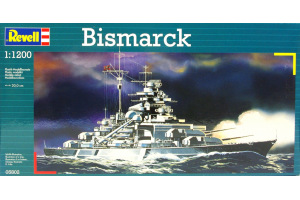 Bismarck (1:1200) - 05802