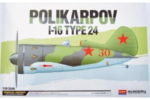Polikarpov I-16 Type 24 LE: (1:48) - 12314