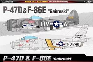 "P-47D & F-86E ""Gabreski"" LE: (1:72) - 12530"
