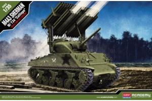 """M4A3 Sherman W/ T34 """"Calliope"""" (1:35) - 13294"""