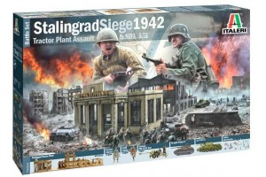 Model Kit diorama 6193 - STALINGRAD SIEGE 1942 (1:72)