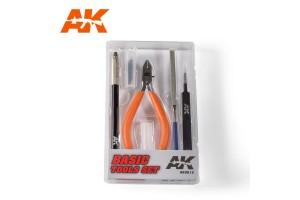 Modelářské nářadí (Basic Tool set) - AK9013
