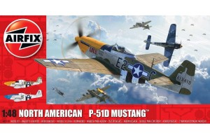 Classic Kit letadlo A05138 - North American P-51D Mustang (Filletless Tails) (1:48)