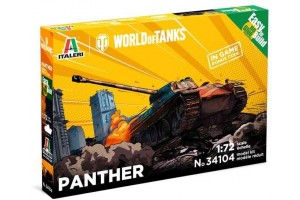 Easy to Build World of Tanks 34104 - Panther (1:72)