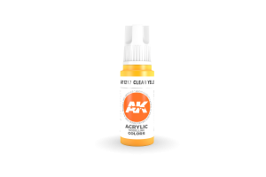 217: Clear Yellow (17ml) - acryl