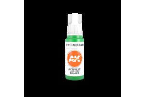 216: Clear Green (17ml) - acryl