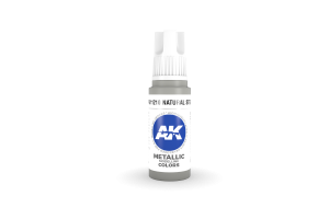 210: Natural Steel (17ml) - acryl