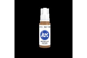 195: Rusty Brass (17ml) - acryl