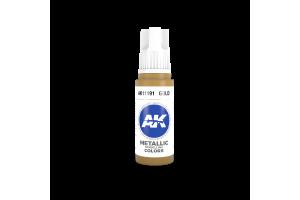 191: Gold (17ml) - acryl