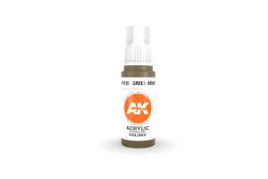 126: Green-Brown (17ml) - acryl