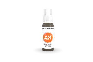 109: Dark Brown (17ml) - acryl