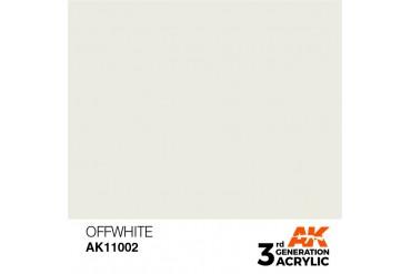 002: Offwhite (17ml) - acryl