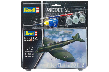 ModelSet letadlo 63962 - Model Set Heinkel He70 F-2 (1:72)