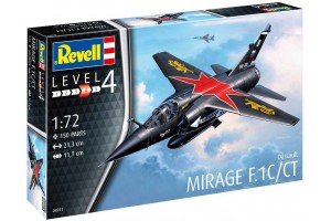 Plastic ModelKit letadlo 04971 - Mirage F.1C/CT (1:72)