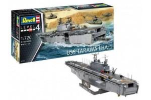 Plastic ModelKit loď 05170 - Assault Ship USS Tarawa LHA-1 (1:720)