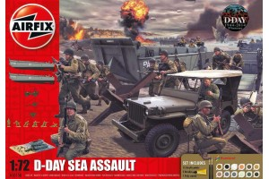 Gift Set diorama A50156A - D-Day 75th Anniversary Sea Assault (1:72)