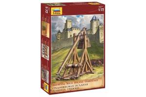 Wargames (AoB) katapult 8516 - Medieval Siege Engine Trebuchet (1:72)